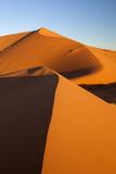 Sand Dunes of Erg Chebbi  Merzouga  Meknes-Tafilalet  Morocco  North Africa  Africa