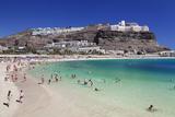 Playa De Los Amadores  Gran Canaria  Canary Islands  Spain  Atlantic  Europe