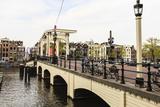 Magere Brug (The Skinny Bridge)  Amsterdam  Netherlands  Europe