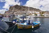 Fishing Boats at the Old Port of Puerto De Mogan