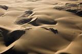 Aerial of Sand Dunes  Skeleton Coast Park  Namibia  Africa