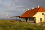 Nyborg-Korsor Bridge  Korsor  Southern Denmark  Denmark  Scandinavia  Europe