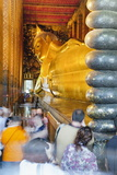 Reclining Golden Buddha in Wat Pho Temple (Wat Phra Chetuphon)