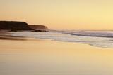 Playa Del Castillo at Sunset  El Cotillo  Fuerteventura  Canary Islands  Spain  Atlantic  Europe