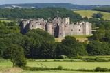 Raglan Castle  Monmouthshire  Wales  United Kingdom  Europe