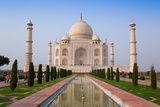 The Taj Mahal  UNESCO World Heritage Site  Agra  Uttar Pradesh  India  Asia