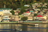 Town of Soufriere  St Lucia  Windward Islands  West Indies  Caribbean  Central America
