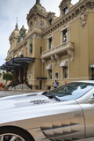 Exotic Sports Car Outside Casino De Monte-Carlo  Monaco  Europe