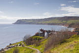 Robin Hood's Bay on the North York Moors Coastline  Yorkshire  England  United Kingdom  Europe
