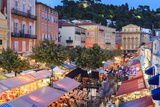 Open Air Restaurants in Cours Saleya