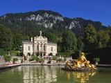 Linderhof Castle  Bavaria  Germany