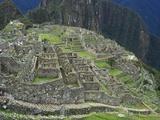 Ancient Incan Ruins of Machu Picchu  Peru