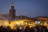 Djemaa El-Fna Square  the Medina  Marrakesh  Morocco  North Africa  Africa