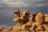Hoodoo Shaped Like a Duck  Goblin Valley State Park  Utah  United States of America  North America