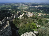 Ruins of Castelo Dos Mouros  Sintra  Portugal