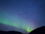 The Northern Lights (Aurora Borealis)  Vik  Iceland  Polar Regions