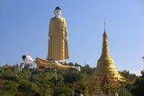 Bodhi Tataung  the World's Tallest Standing Buddha at 424 Feet  Near Monywa