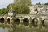 Old Bridge and River Avon  Bradford-On-Avon  Wiltshire  England  United Kingdom  Europe