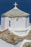Evagelistria Church  Skopelos  Sporades  Greek Islands  Greece  Europe