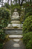 Buddha Statue in the Ryoan-Ji Temple  UNESCO World Heritage Site  Kyoto  Japan  Asia