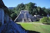 Temple of Inscriptions  Palenque Ruins  Chiapas  Mexico