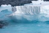 Iceberg  Spitsbergen  Svalbard  Norway  Scandinavia  Europe