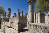 School for Youths  Roman Site of Makhtar  Tunisia  North Africa  Africa