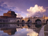 Bridge of Angels and Castello San Angelo  Rome  Italy