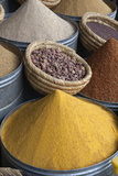 Spices in the Souk  Marrakech  Morocco  North Africa  Africa