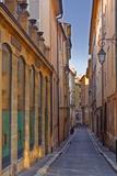 A Narrow Backstreet in Aix-En-Provence  Bouches-Du-Rhone  Provence  France  Europe