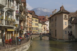Old Town and River Thiou  Annecy  Haute Savoie  France  Europe