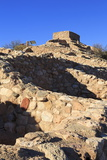 Tuzigoot National Monument  Clarkdale  Arizona  United States of America  North America