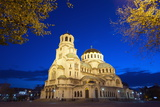 Aleksander Nevski Memorial Church  Sofia  Bulgaria  Europe