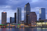 Tampa Skyline  Florida  United States of America  North America