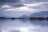 Derwent Water in the Lake District National Park  Cumbria  England  United Kingdom  Europe