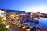 Kyrenia Harbour at Dusk  Kyrenia  North Cyprus  Cyprus  Mediterranean  Europe