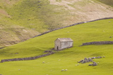 A Stone Barn Near to Littondale in the Yorkshire Dales  Yorkshire  England  United Kingdom  Europe