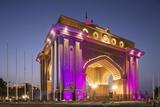 Emirates Palace Hotel Entrance  Abu Dhabi  United Arab Emirates  Middle East