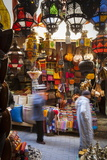 Stalls in the Fes El Bali Medina  Fez  Morocco  North Africa  Africa