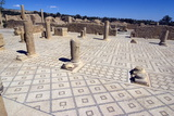 Large Baths  Roman Ruin of Sbeitla  Tunisia  North Africa  Africa