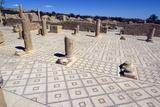 Large Baths  Roman Ruin of Sbeitla  Tunisia  North Africa  Africa