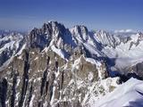 Aiguille Du Midi  Rhone Alpes  France