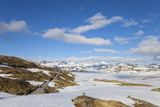 Snow Covered Plateau in the Jotunheimen National Park