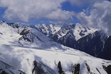 Cis Tien Shan Range Near Lake Issykkul  Kyrgyzstan