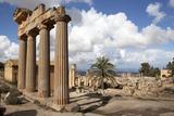 The Temple of Demeter  Cyrene  UNESCO World Heritage Site  Libya  North Africa  Africa