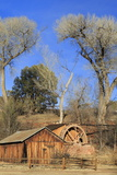 Water Wheel at Red Rock Crossing  Sedona  Arizona  United States of America  North America