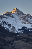 Wilson Peak in the Winter at First Light