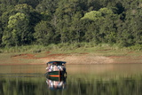 Boating  Periyar Tiger Reserve  Thekkady  Kerala  India  Asia