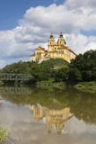 Melk Abbey Reflected in the Danube  Wachau  Lower Austria  Austria