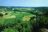 Rural Landscape  Domme  Dordogne  France